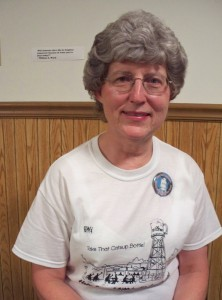 Betty Keller Timmer is an officer with the Friends of the Old Millstadt Water Tower.