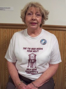 Melva Way is an officer with the Friends of the Old Millstadt Water Tower.