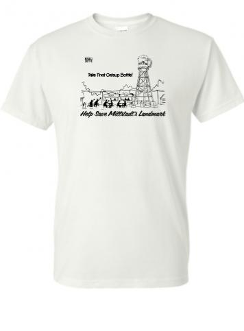 Millstadt-Water-Tower-TinMan-donation-gift-T-shirt